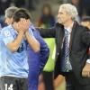França e Uruguai não saem do 0 a 0 copa do mundo 2010