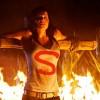 Na última temporada de Smallville, Lois será crucificada.