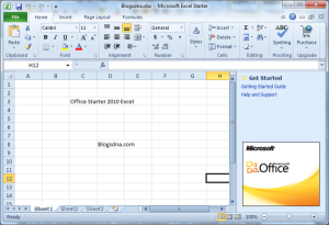 Vaza na internet o link para download do novo Office 2010 Starter