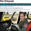 Princípe William resgata garota de 16 anos no mar da Inglaterra