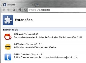 chrome-extensoes