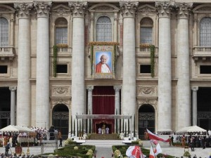 retrato-joa-paulo-ii-fachada-basilica-de-sao-pedro