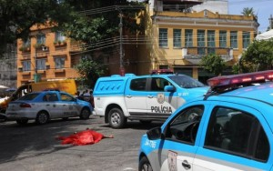 Morte no Carnaval do Rio de Janeiro