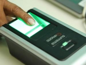 Cadastramento biométrico