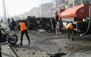 Atentado duplo na Síria