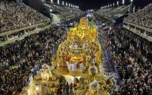 Pode chover no desfile das escolas do Rio