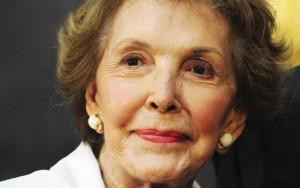 Morre Nancy Reagan ex-primeira dama dos EUA