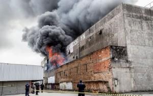 Incêndio de shopping em São Paulo