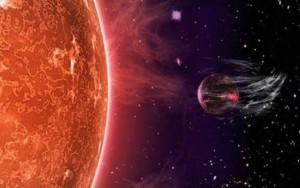 """Planetas têm atmosfera """"arrancada"""" por sóis"""
