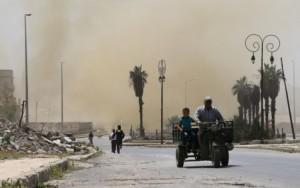 Bombardeio deixa pelo menos 30 mortos na capital da Síria