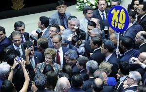 Em apelo a senadores, Dilma se diz alvo de complô e reafirma inocência