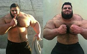 """""""Hulk"""" da vida real quer lutar contra o """"Estado Islâmico"""" na Síria"""