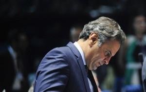 """Aécio diz que críticas a Alexandre de Moraes são políticas e """"não procedem"""""""