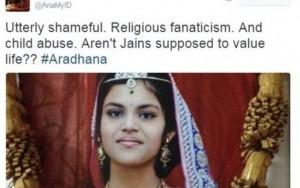 Morte de menina após jejum religioso de 68 dias provoca polêmica na Índia