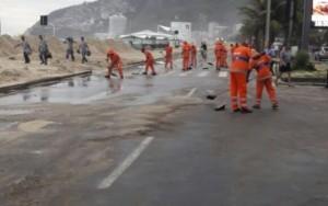 Ressaca no Rio foi consequência de ciclone que atingiu o Sul do País