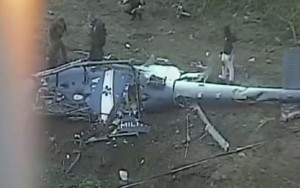 Helicóptero da PM que caiu no Rio não tem indício de tiros, diz Cenipa