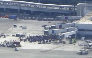 Ao menos cinco pessoas morrem após tiros serem disparados em aeroporto dos EUA