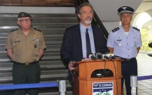 Ministro da Defesa fechará acordos de segurança na fronteira com a Colômbia