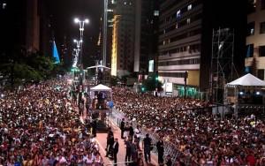 Polícia Militar prende cinco pessoas durante shows na Avenida Paulista
