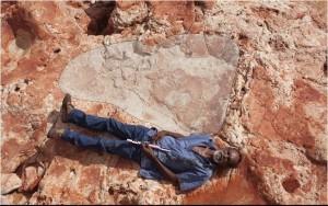 Cientistas descobrem a maior pegada de dinossauro do mundo (com 1,75 metros!)
