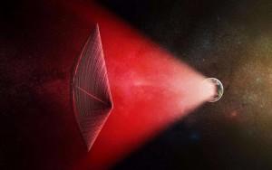 """Onda de rádio espacial pode vir de """"veleiro alienígena"""", diz estudo da Harvard"""