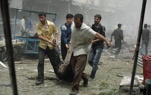 Bombardeio mata 15 civis na Síria; ONG culpa coalizão liderada pelos EUA