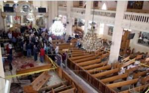 Igrejas cristãs são atacadas no Egito; Estado Islâmico assume atentado