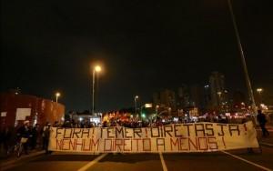 PM não vai permitir bloqueio de vias e protesto na casa de Temer em São Paulo
