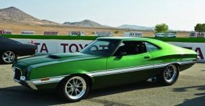 O Gran Torino, modelo de 1972, já faz está fazendo fama com mais este serviço prestado a Hollywood