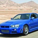 De 1998, o Nissan Skyline ER34 tem preparação da Turbonetics para o turbo que apimenta o motor RB26 DOHC de 2,6 litros e seis cilindros