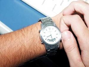 ajustar relogio horario de verao
