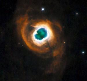 nebula com olho
