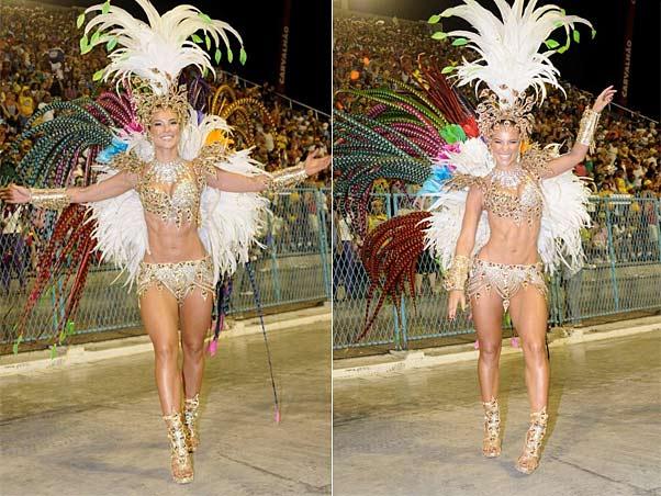Paola Oliveira é a rainha do carnaval carioca