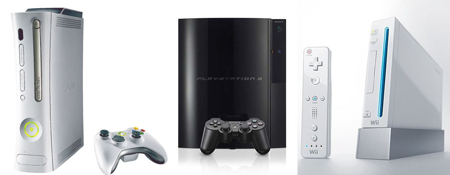 Today is a great day to buy a gaming console: wii, ps3 and xbox 360 on sale with free $50 gift cards or credit