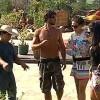 'A Fazenda 3':Peões reparam horta e criam espantalho sob supervisão de caseiro Clébis