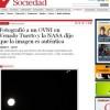 Ao tirar foto da lua, jornalista argentino flagra suposto óvini