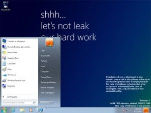 Vaza na internet imagens do Windows 8