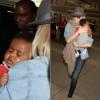 Charlize Theron é fotografada com filho adotivo passeando em LA