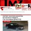 Site diz que filha de Whitney Houston se envolve em acidente de carro